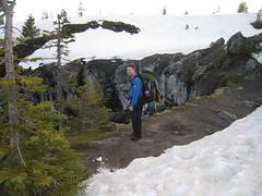 Jeremy at Chocolate Falls