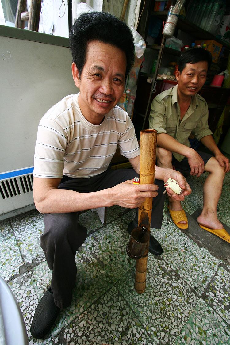 chinese bong hit