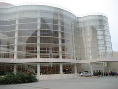 The show was at the Renee and Henry Segerstrom Concert Hall. (04/22/07)