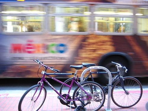 bus bike story