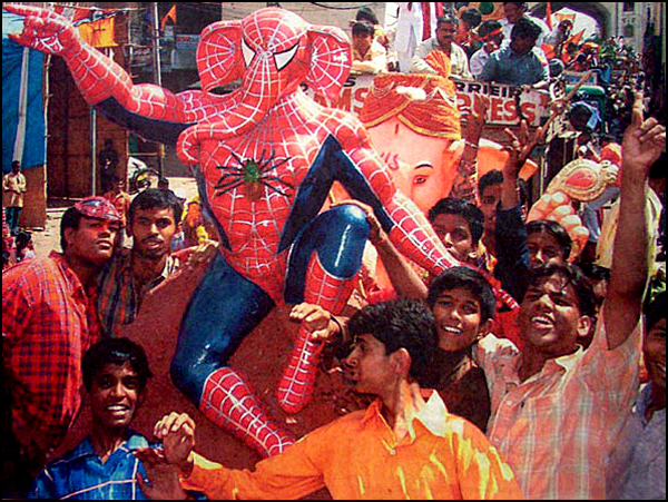 Spiderman Ganesh