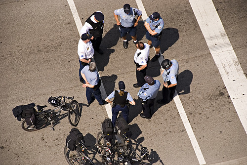 Cops and Bikes May Day