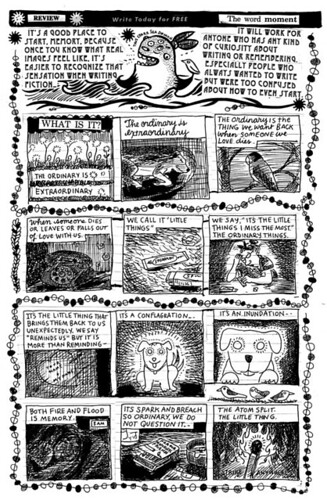 FREE COMIC BOOK DAY ACTIVITY BOOK by Lynda Barry