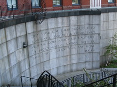 Isaiah Quote Near UN by mcotner, on Flickr