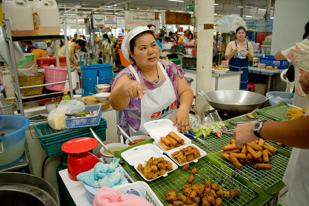 BangkokFood - Random Fried Food Stall