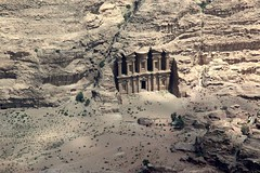 Petra - Jordan (Fispace) Tags: beautiful landscape flying bravo view petra aerial jordan helicopter faved