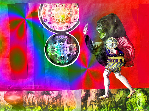 LARRY CARLSON, digital chromogenic print, 26x22in., 2007.