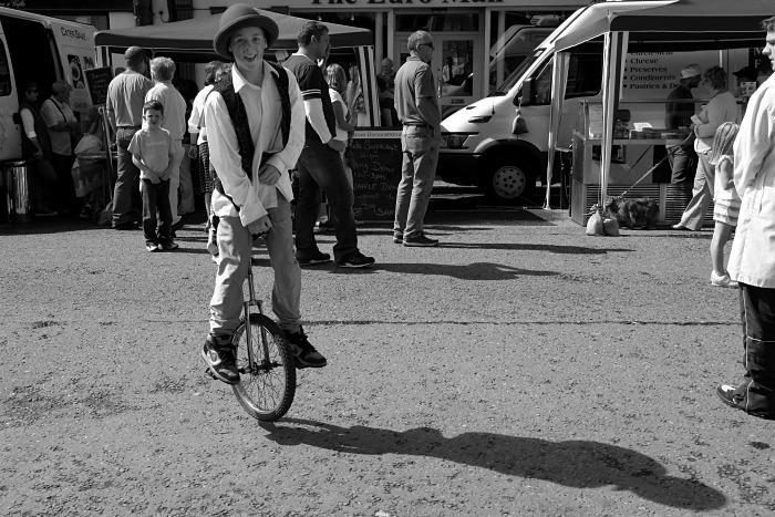 Unicycle fun