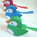 - Flickr Birdies - by Warm 'n Fuzzy Free Cutout 3D models from Warm 'n Fuzzy