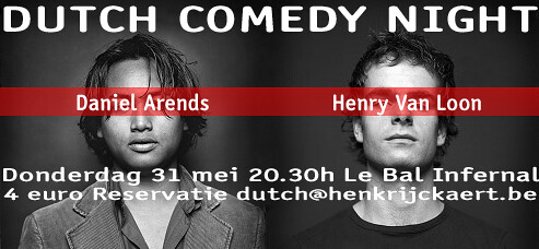 Dutch Comedy night