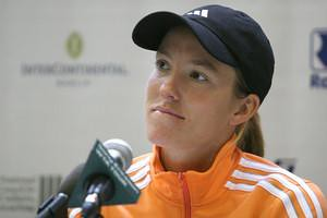 Justine Henin @ Lawntennisnews