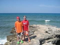 Isla Mujeres, ocean side