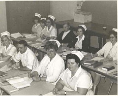 Practical Nursing Class-Mid 1960s (Library @ Randolph Community College) Tags: north carolina asheboro randolphcommunitycollege randolphindustrialeducationcenter
