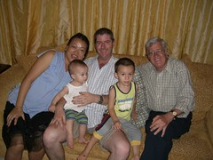 Tony Ainscoughs family - Aus