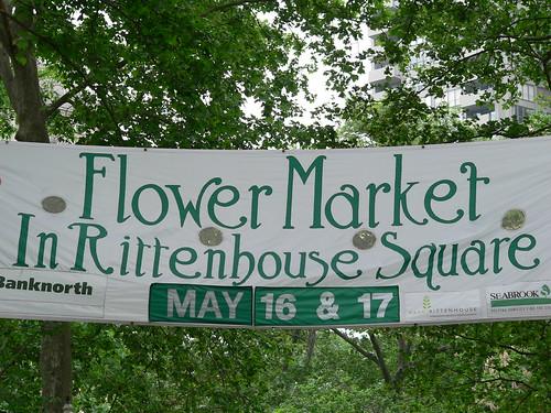 Rittenhouse Square Flower Market