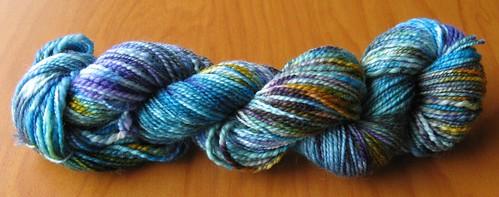 multi dye yarn