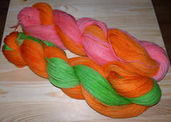 candy bright sock yarn