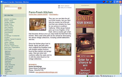 HGTV Farm Fresh Kitchen