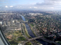 Rio Pinheiros in Sao Paulo