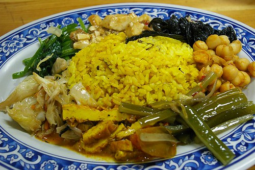 IMGP9399_西門町的茂葉,印度香米飯