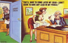No lead in my pencil (Bay M) Tags: comedy postcard humour bamforth richardwisbey richiewisbeycollection