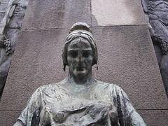 Mulher, pra?a Ns. Senhroa da Paz - Ipanema