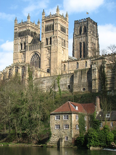 Durham Cathedral Britain Romanesqu Architecture