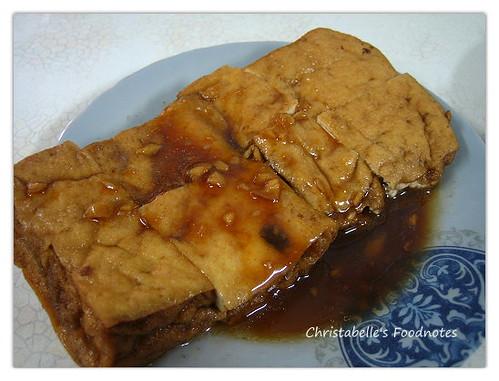金華街金華麵店油豆腐