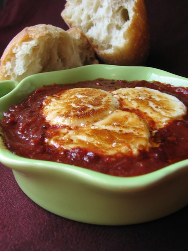 Spicy Tomato Sauce with Goat Cheese
