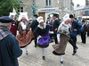 Normandy folk dance in Bricquebec