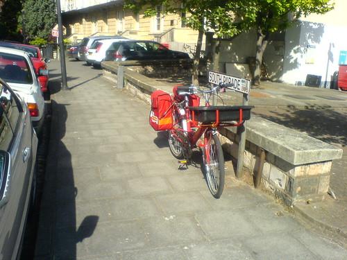 Postman's bike!