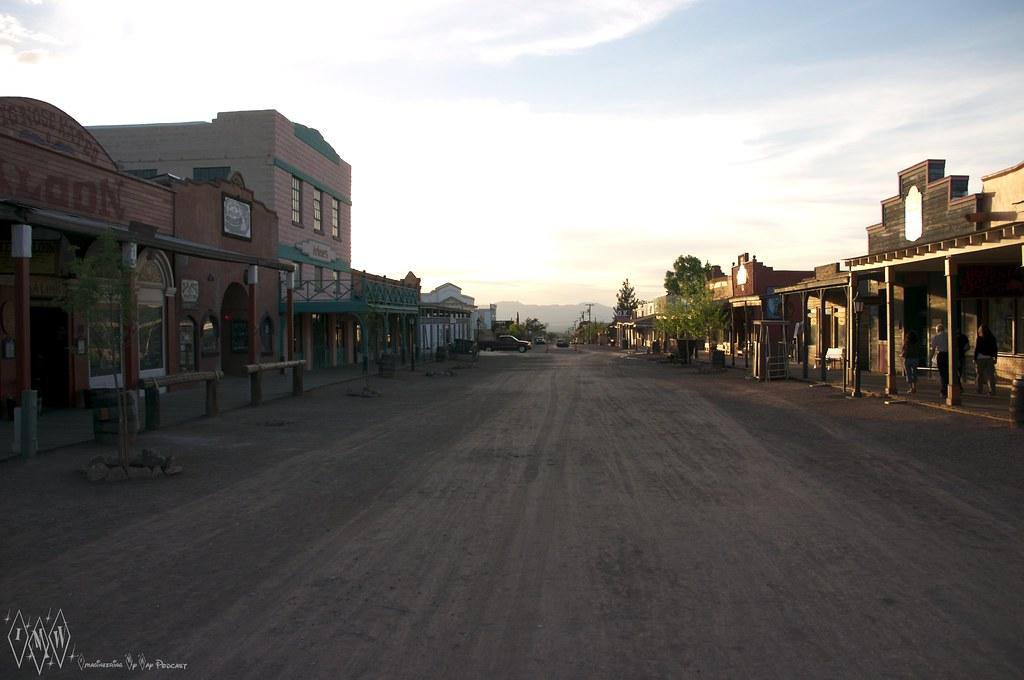 Allen Street looking West