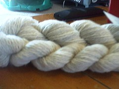 Sport weight handspun