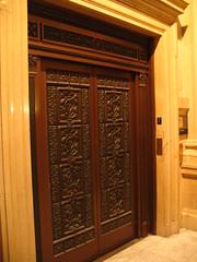 Ornate Elevator