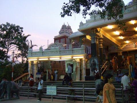 Ragigudda...various shrines in the dusk