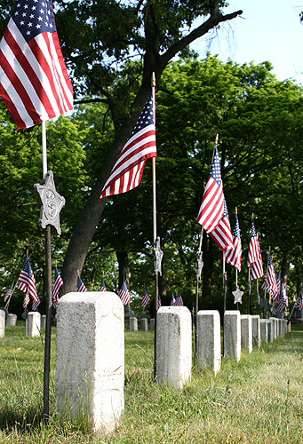 Memorial Day 2007 Oakhill Cemetery Grand Rapids version 2