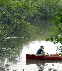 Are we there yet? (slambo_42) Tags: lake uw wisconsin arboretum canoe madison wi wingra