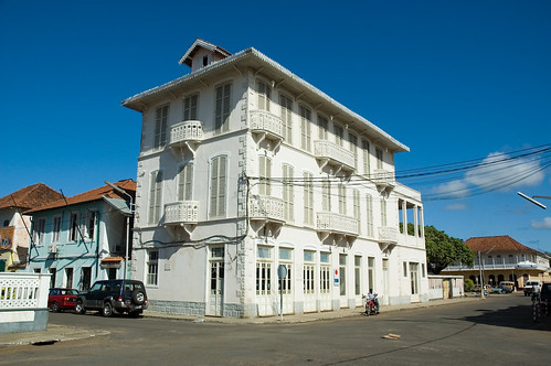 Colonial architecture in São Tomé