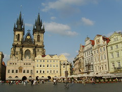 Church of Our Lady Before Tyn, Old Town Square Prague