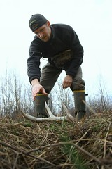 Found (La Mano de Cuervo) Tags: hunting shed deer whitetail antler