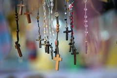 Crucifijos de los Rosarios (nathangibbs) Tags: tourism necklace beads catholic christ cross canoneos10d crafts jesus arts christian crucifix rosary bajacalifornia tijuana canon70200mmf28l addtofeed