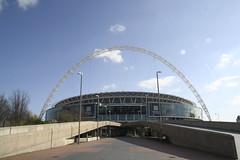 Wembley Stadium by chalkie on flickr