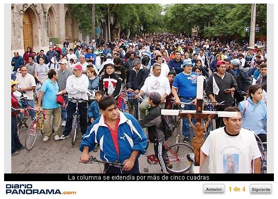 Vía Crucis en bici
