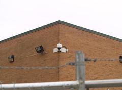 camera brick wall corner fence geotagged surveillance maryland cctv barbedwire kensington outdoorlighting alberteinsteinhighschool geo:lat=39039924 geo:lon=77067595