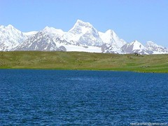 Karumbar Lake - Hindukush Mountains of Pakistan.
