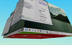 Knoppix With Beryl 3D Desktop - by oiyou
