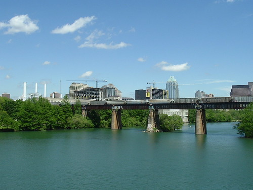 Austin Skyline from Town Lake