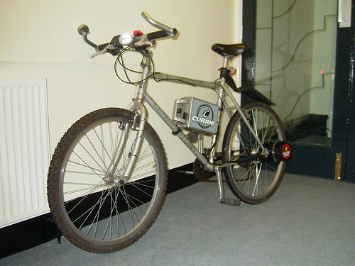My bike with Currie electric kit fitted