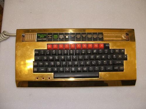 Gold BBC Micro