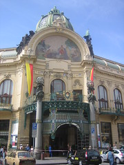 The Municipal Building in Prague